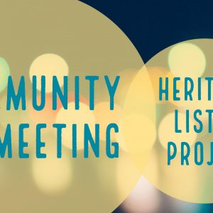 Community Meeting Heritage Listing Project