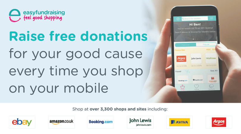Raise Funds for CAST every-time you buy online